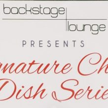 You're Invited to Signature Chef Dish Series