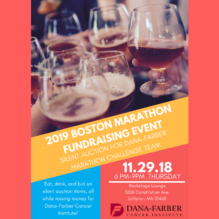 Help Fight Cancer at this 2019 Boston Marathon Fundraising Event