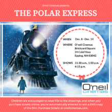 Polar Express Arrives at O'neil Cinemas Epping This December