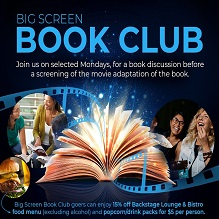 Join Our Big Screen Book Club & Add These Books to Your Reading List