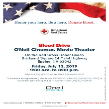 Be a Hero and Give Blood at Our Blood Drive on July 12